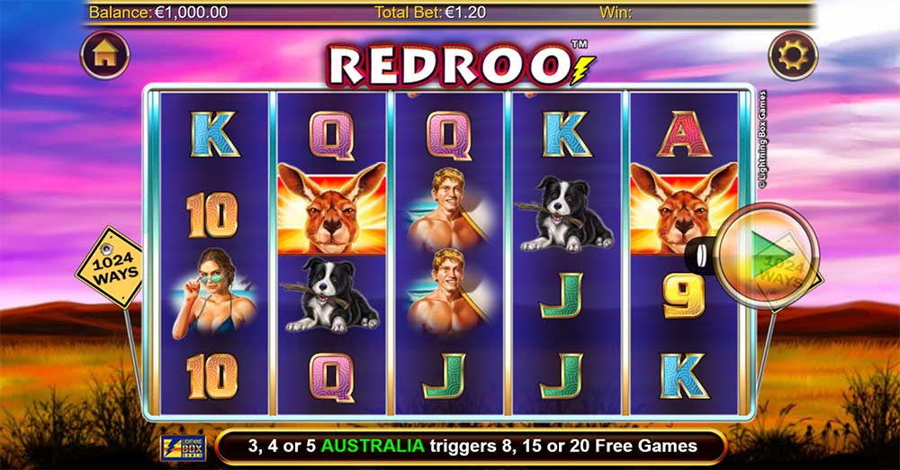 Redroo Slot - Base Game