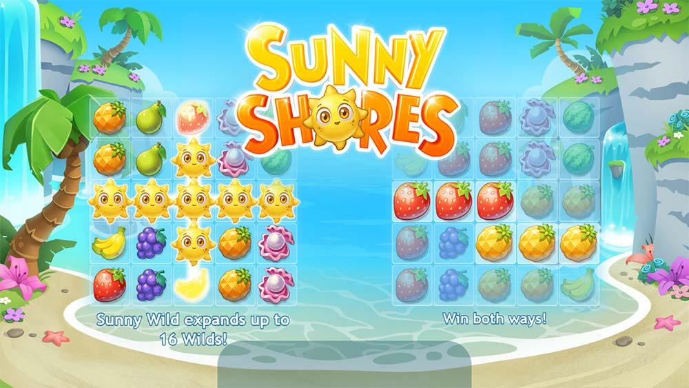 Sunny Shores Slot - Intro Screen
