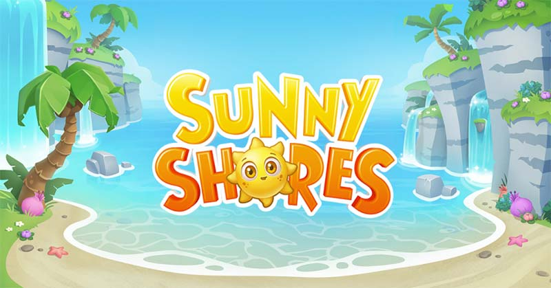Sunny Shores Slot Logo