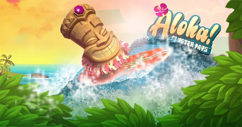 Aloha Cluster Pays - CasinoLuck Promotion