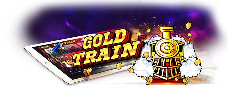 Gold Train Slot Logo