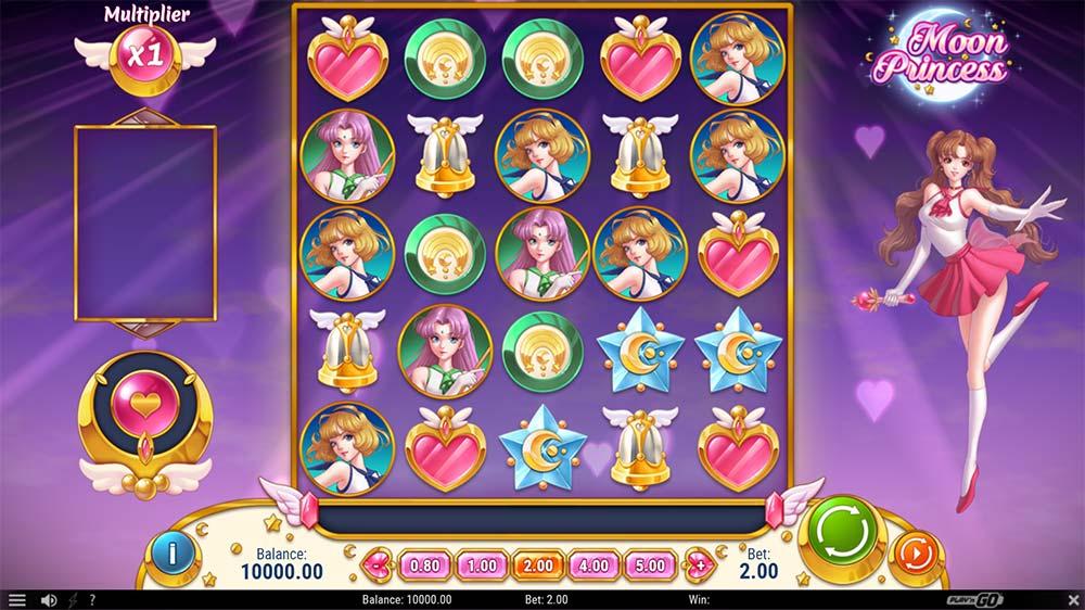 Moon Princess Slot - Base Game