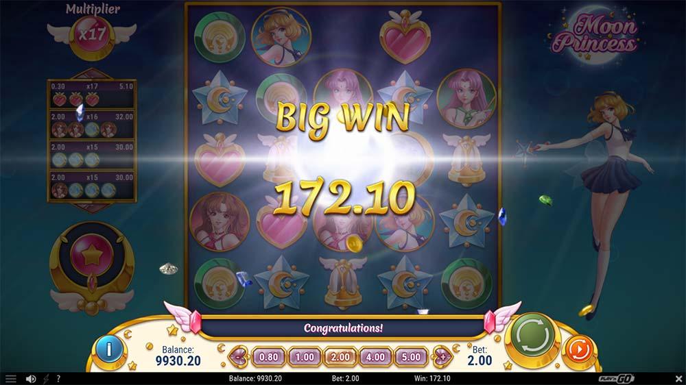 Moon Princess Slot - Big Win
