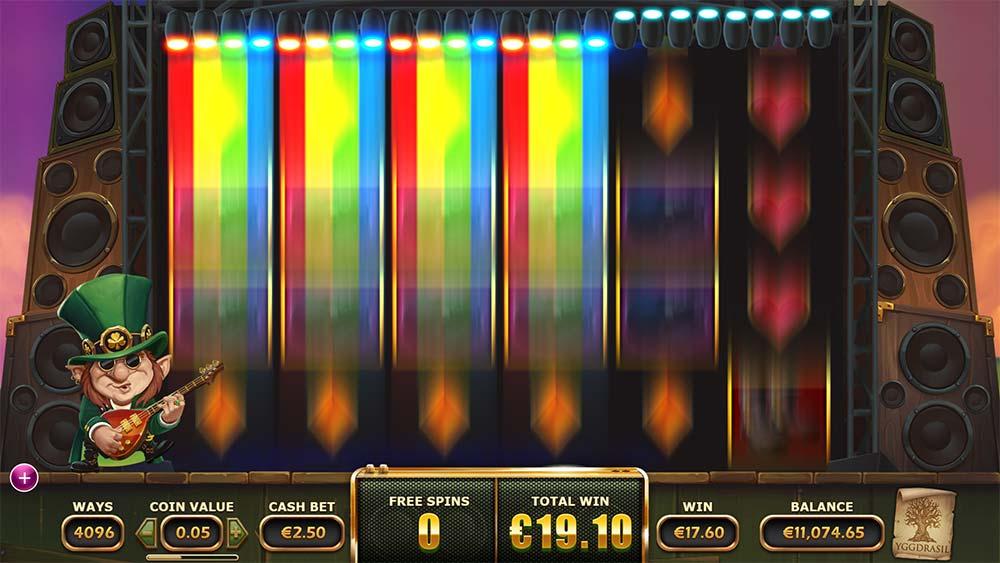 Rainbow Ryan Slot - Synced Rainbow Reels