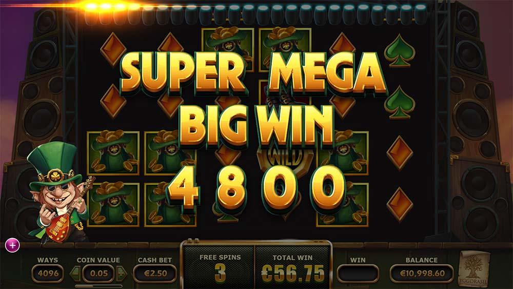 Rainbow Ryan Slot - Super Mega Big Win