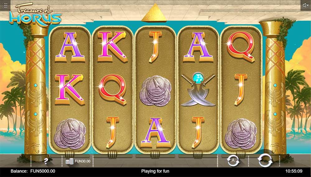 Treasure of Horus Slot - Base Game