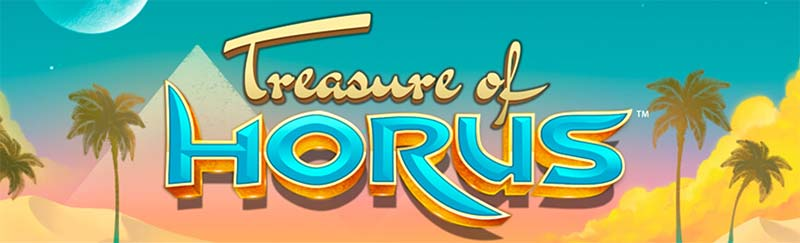 Treasure of Horus Slot Logo