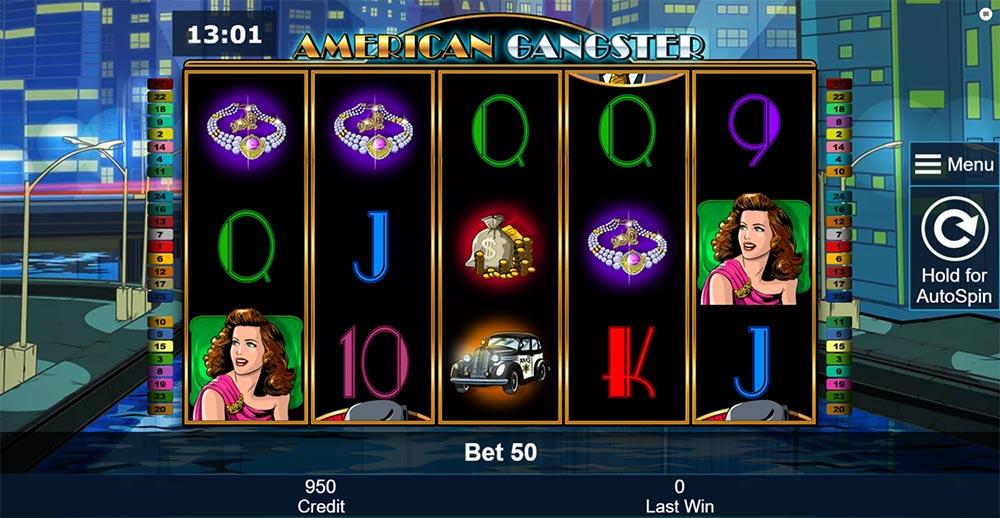 American Gangster Slot - Base Game