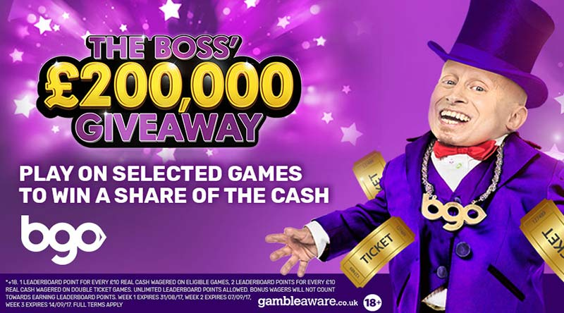 The Boss' £200,000 Giveaway!