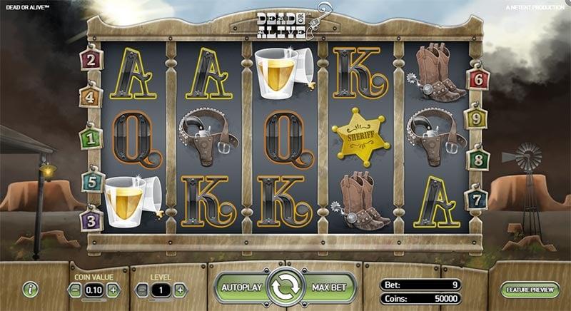 Dead or Alive Slot - NetEnt