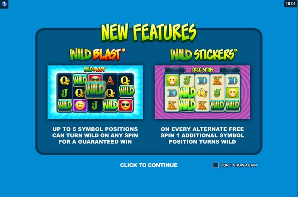 EmotiCoins Slot - Intro Screen