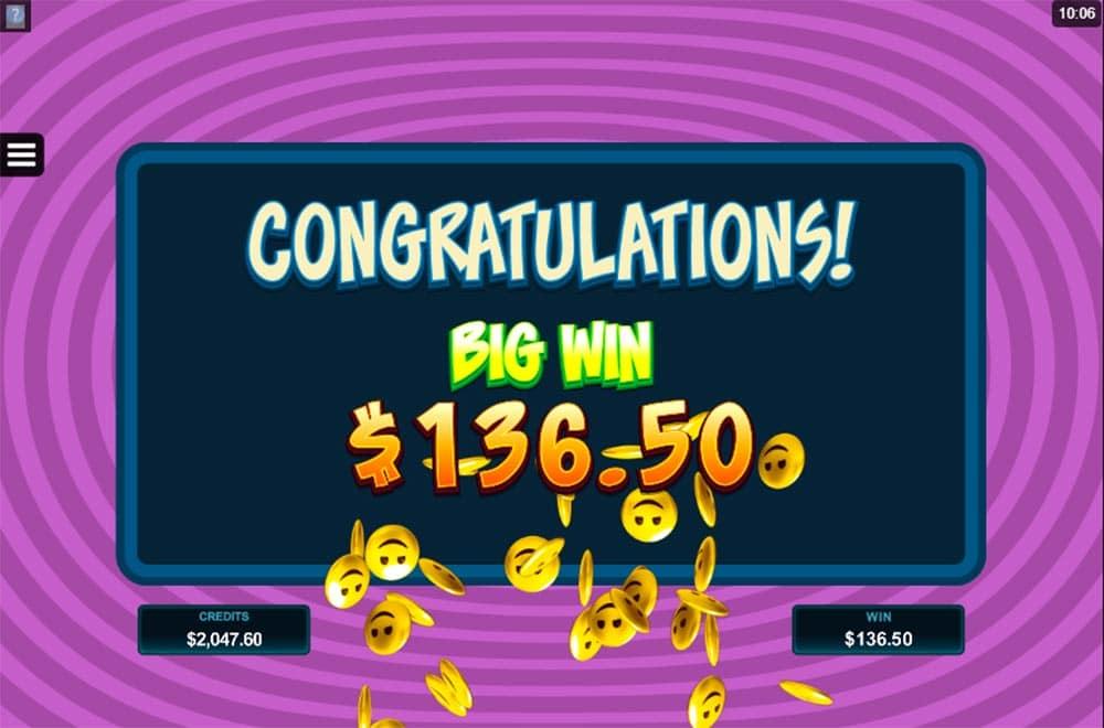 EmotiCoins Slot - Big Win