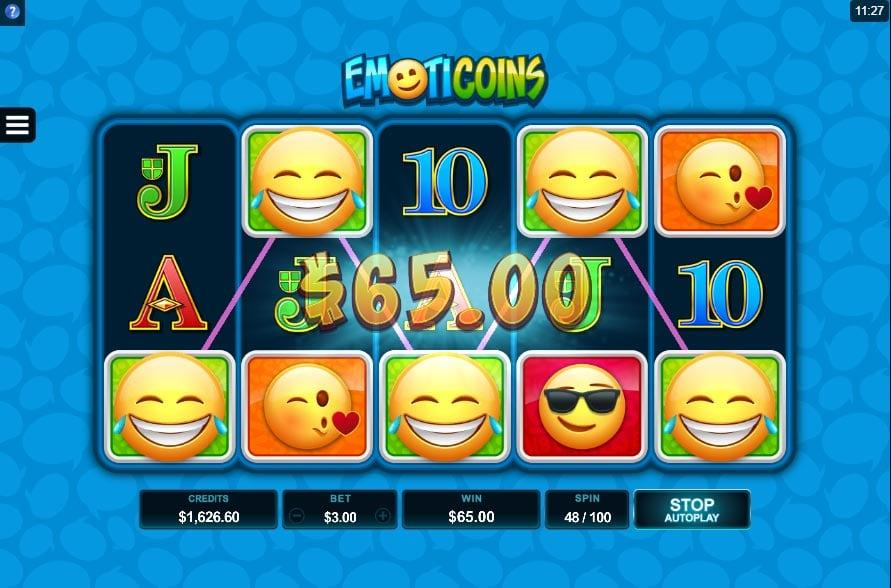 EmotiCoins Slot - Line Hit