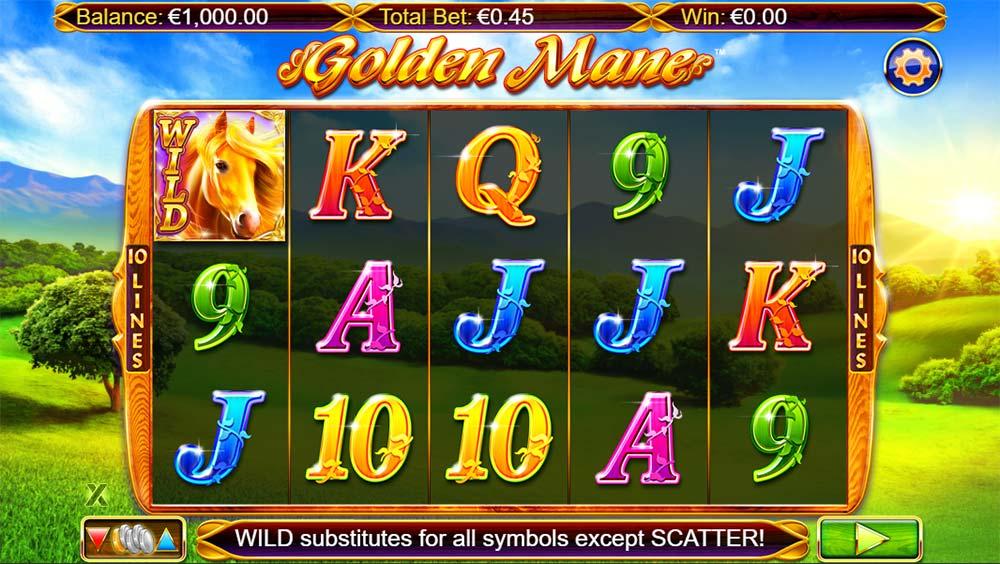 Golden Mane Slot - Base Game