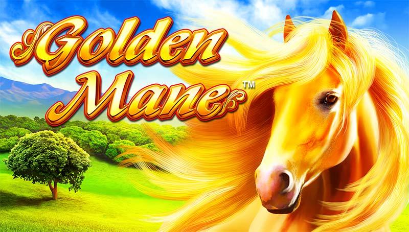 Golden Mane Slot Logo