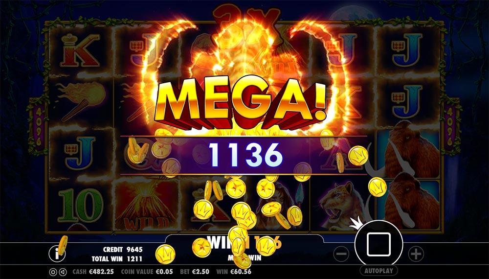 Jurassic Giants Slot - Mega Big Win