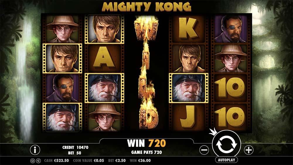 Mighty Kong Slot - Wild Reel