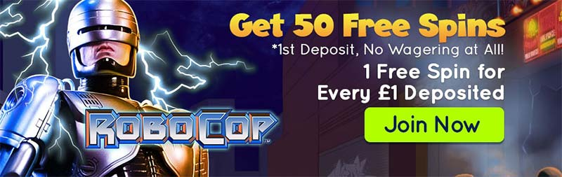 Powerspins Casino - 50 Free Spins No Wagering