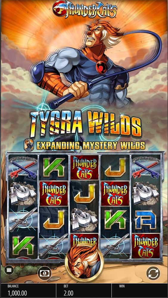 Thundercats Slot - Base Game