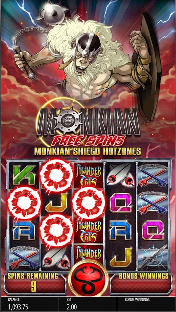 Thundercats Slot - Monkian Free Spins