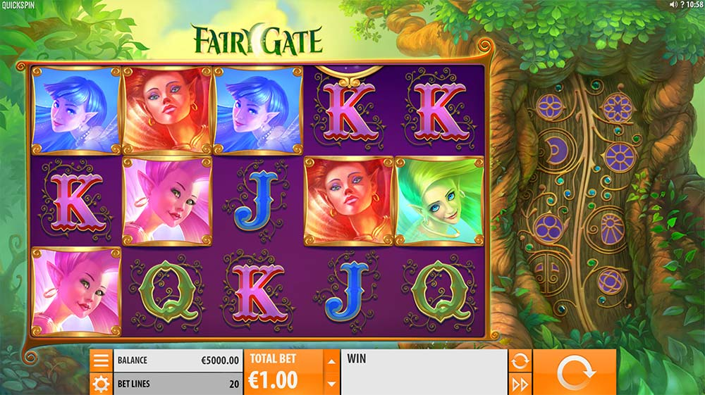 Fairy Gate Slot - Base Game