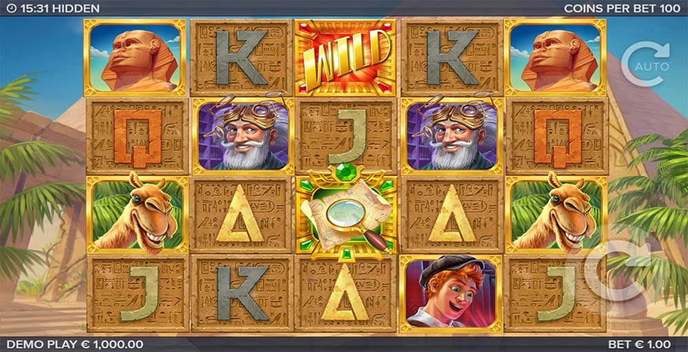 Hidden Slot - Base Game