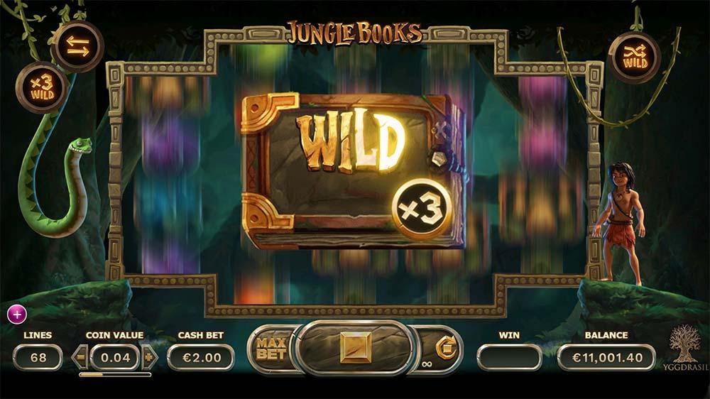 Jungle Books Slot - Bonus Features Added