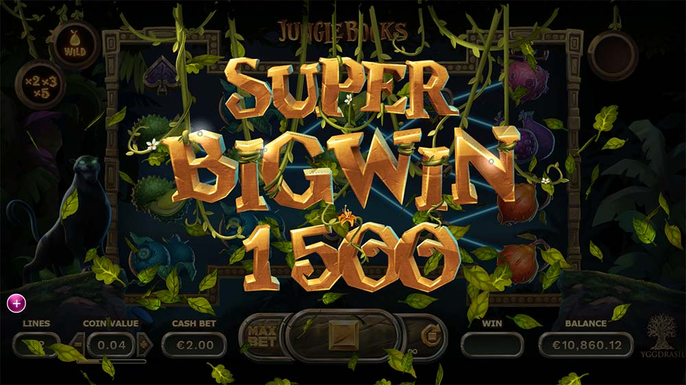 Jungle Books Slot - Super Big Win