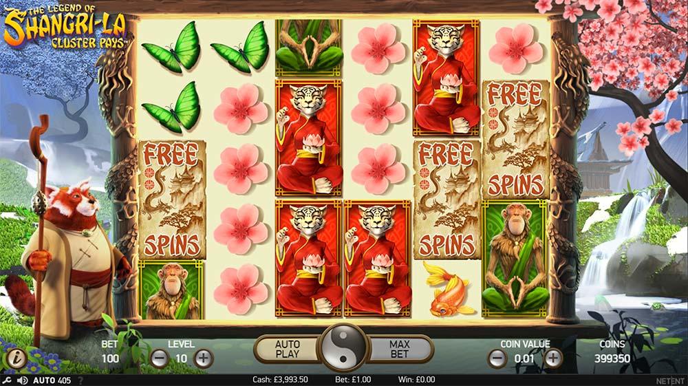 The Legend of Shangri La Slot - Free Spins