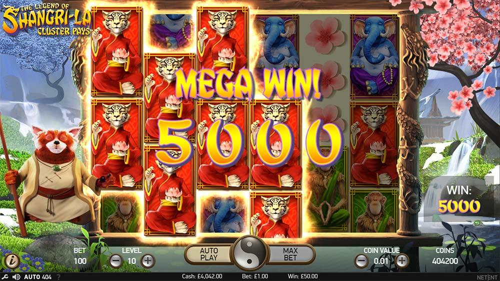 The Legend of Shangri La Slot - Mega Win