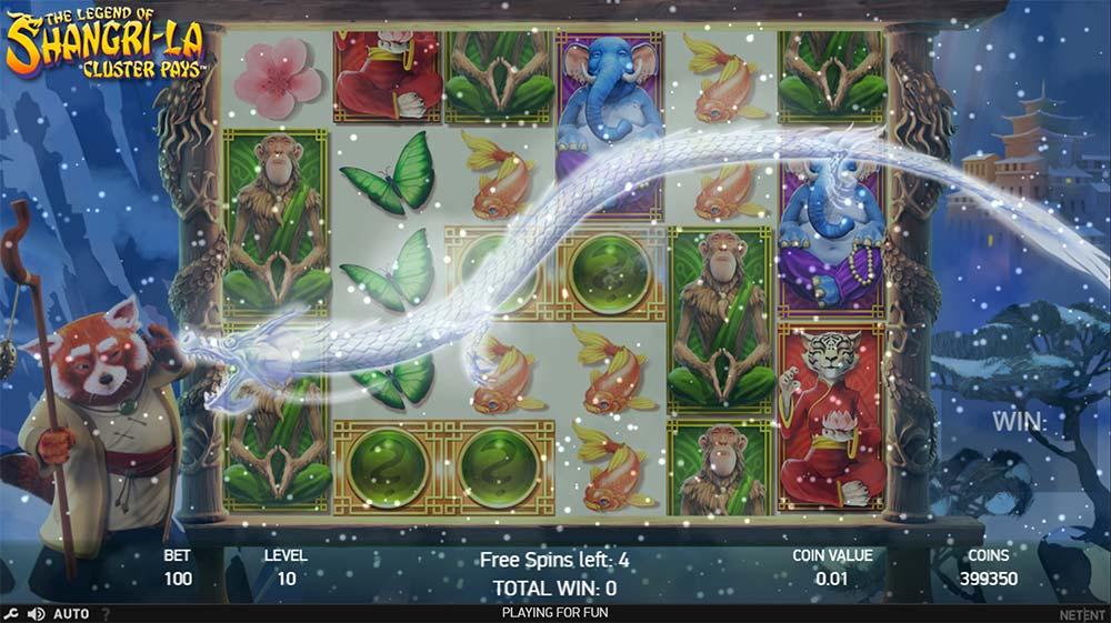 The Legend of Shangri La Slot - Bonus Round