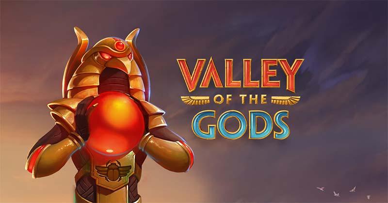 Valley Of The Gods Slot Logo