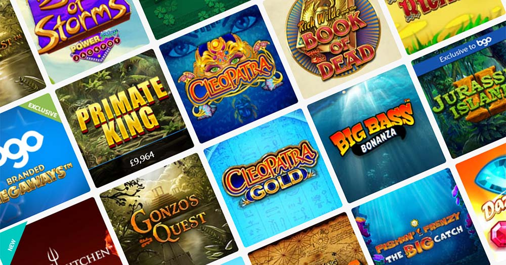 BGO Casino Slots Header