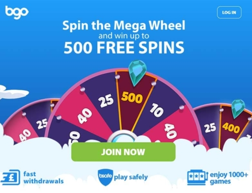 BGO Casino Review – Win up to 500 Free Spins!