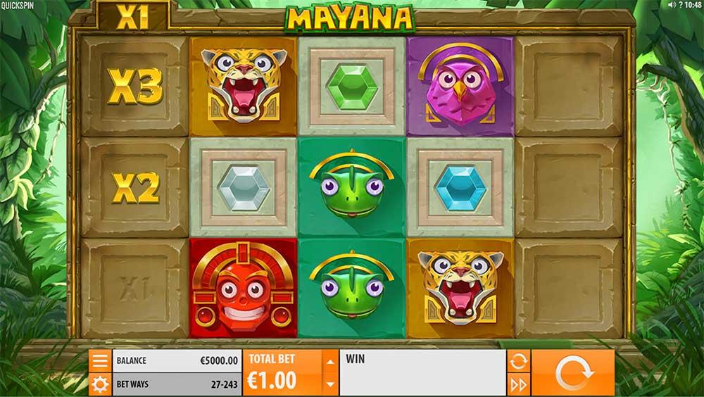 Mayana Slot - Base Game