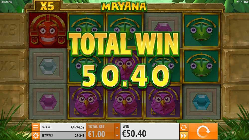 Mayana Slot - Big Win