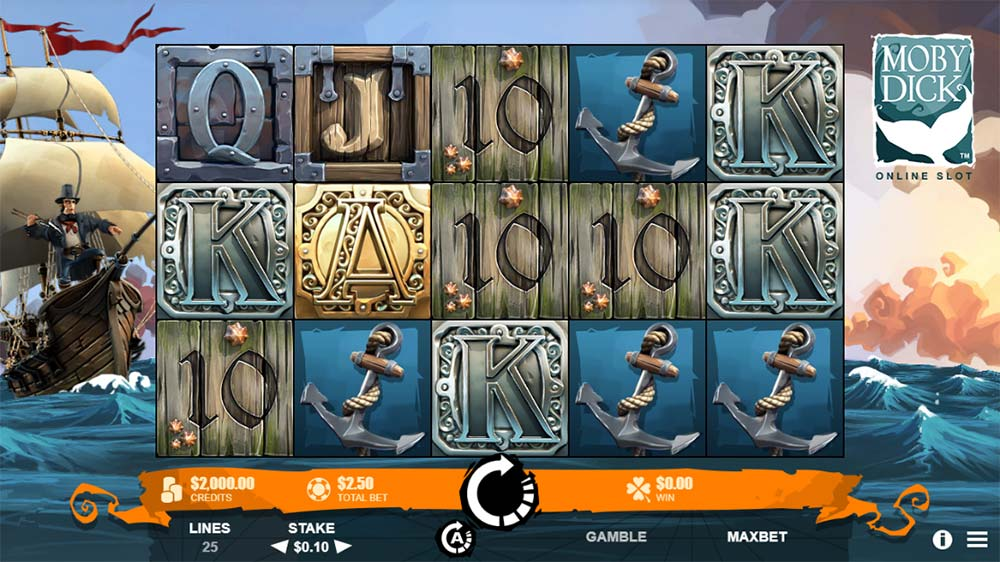 Moby Dick Slot - Base Game