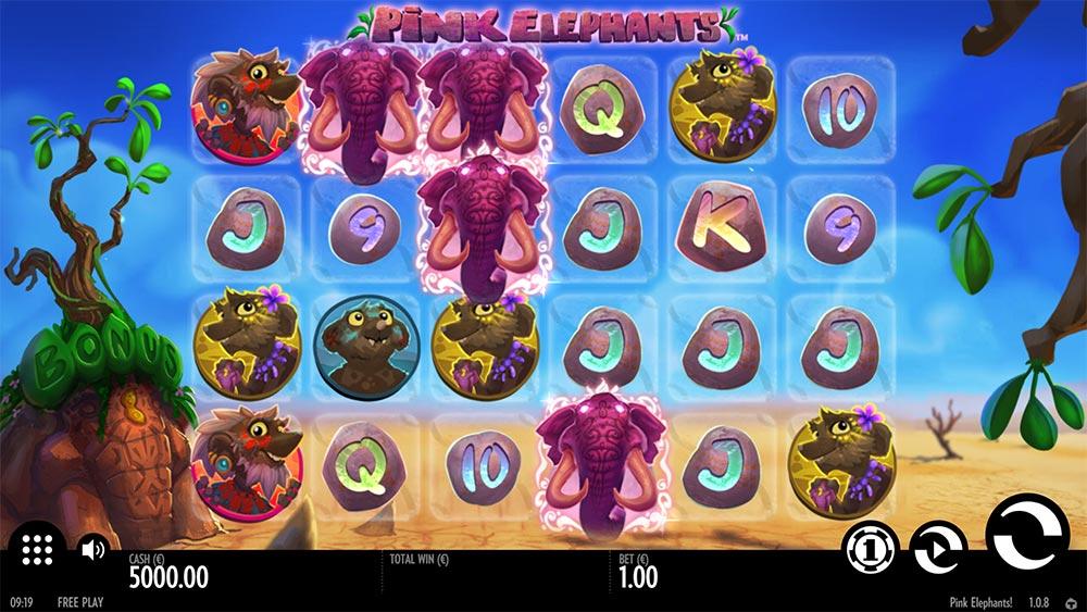 Pink Elephants Slot - Base Game