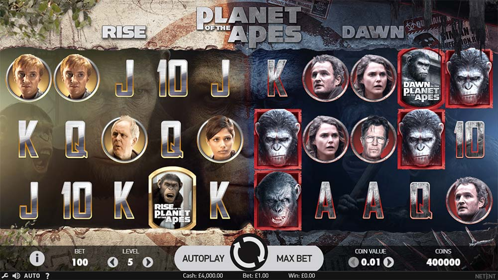 Planet of the Apes Slot - Base Game