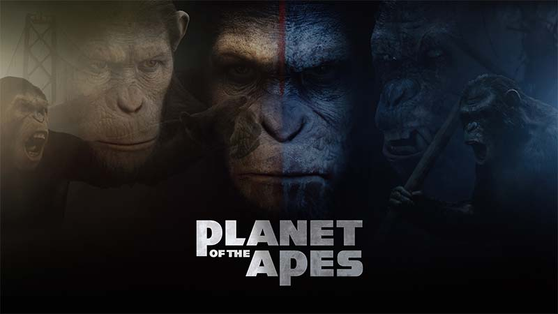 Planet of the Apes Slot Logo