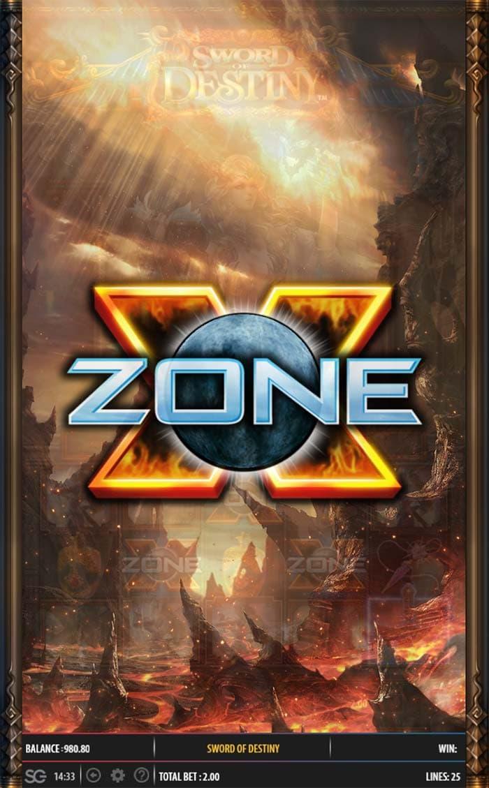 Sword of Destiny Slot - Bonus Trigger