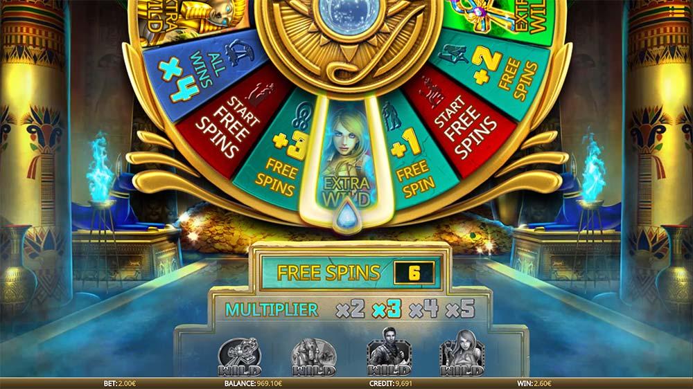 Eye of the Amulet Slot - Bonus Wheel