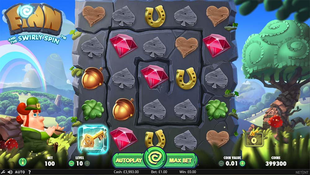 Finn and the Swirly Spin Slot - Base Game