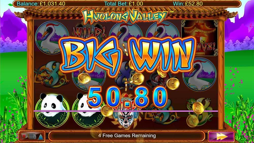 Huolong Valley Slot - Big Win