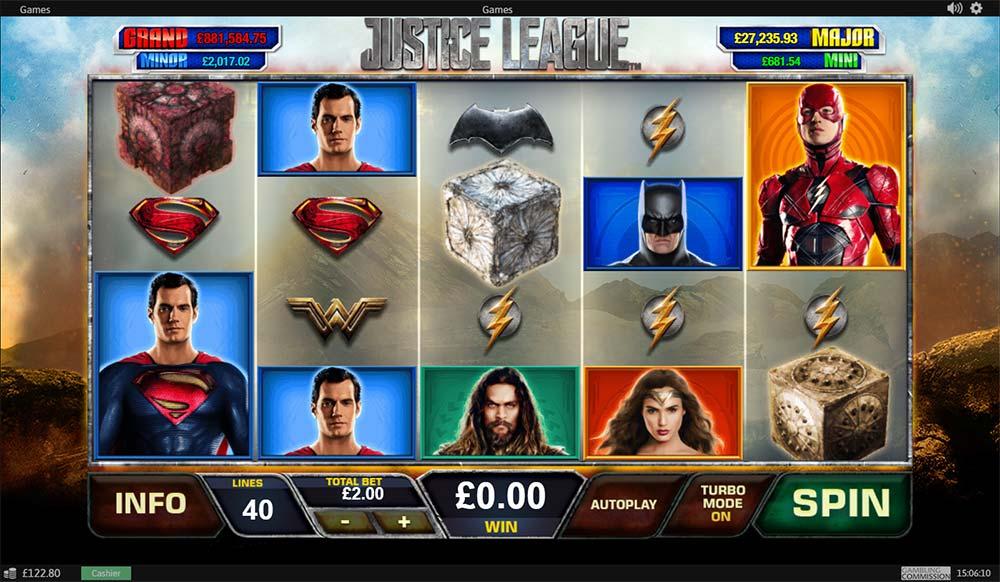 Justice League Slot - Base Game