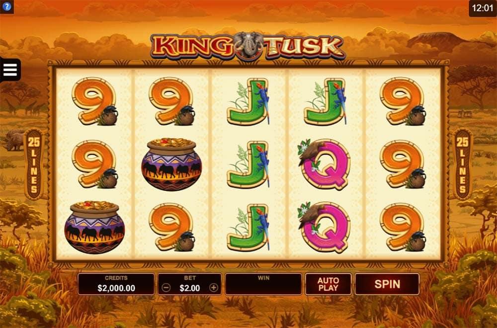 King Tusk Slot - Base Game