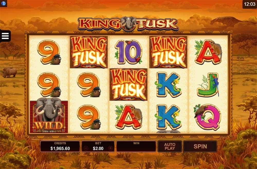 King Tusk Slot - Bonus Trigger