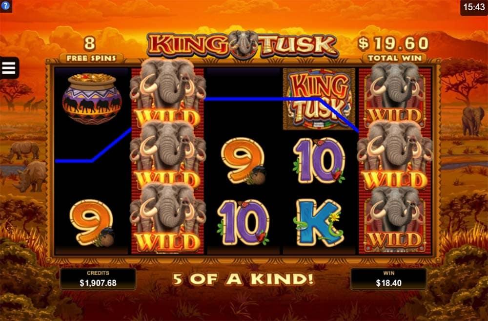 King Tusk Slot - Stampede Free Spins