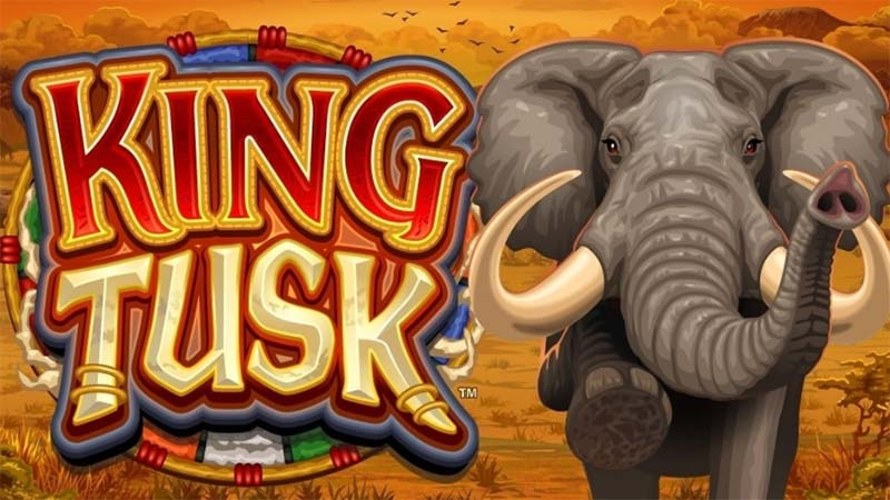 King Tusk Slot Logo