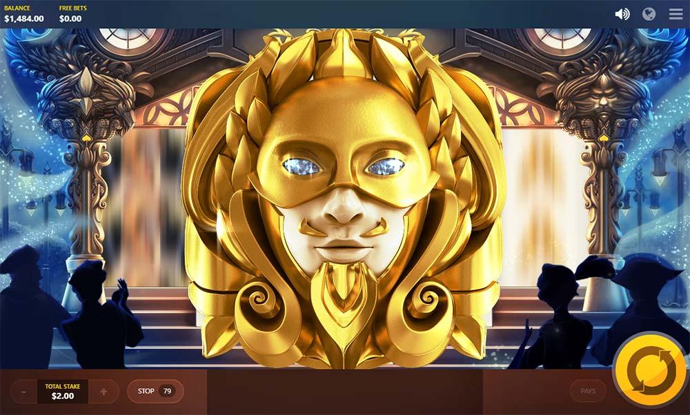 Masquerade Slot - Royal Masque Feature